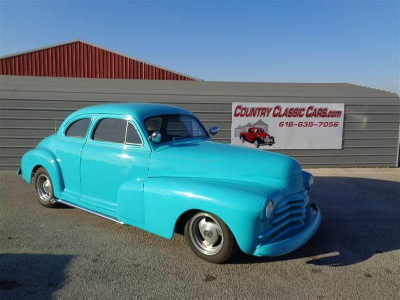 For Sale 1947 Chevrolet Coupe In Staunton Illinois