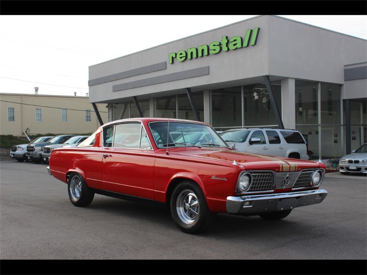 For Sale: 1966 Plymouth Barracuda in Greeley, Colorado