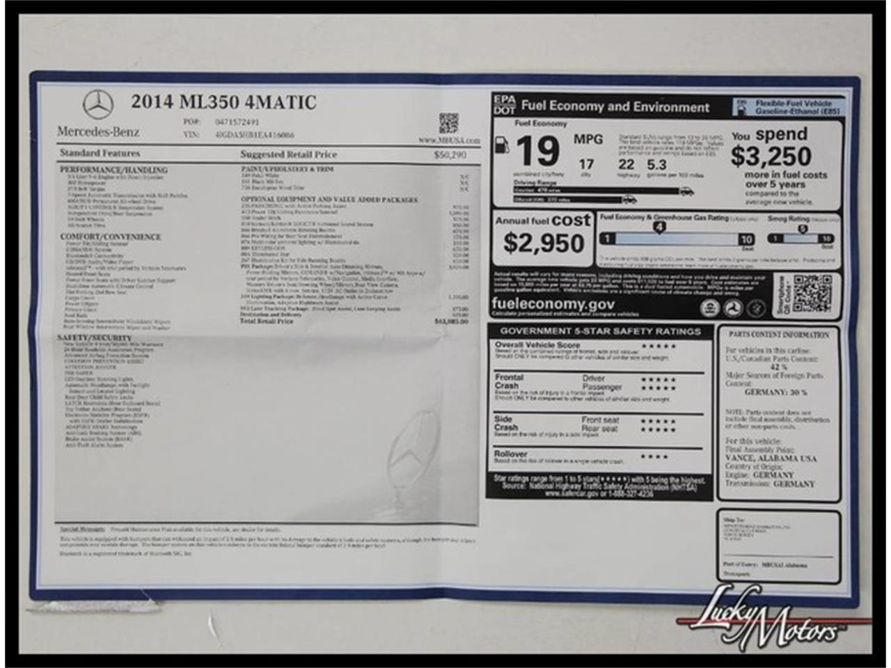 Large Picture of '14 M-Class - M46W