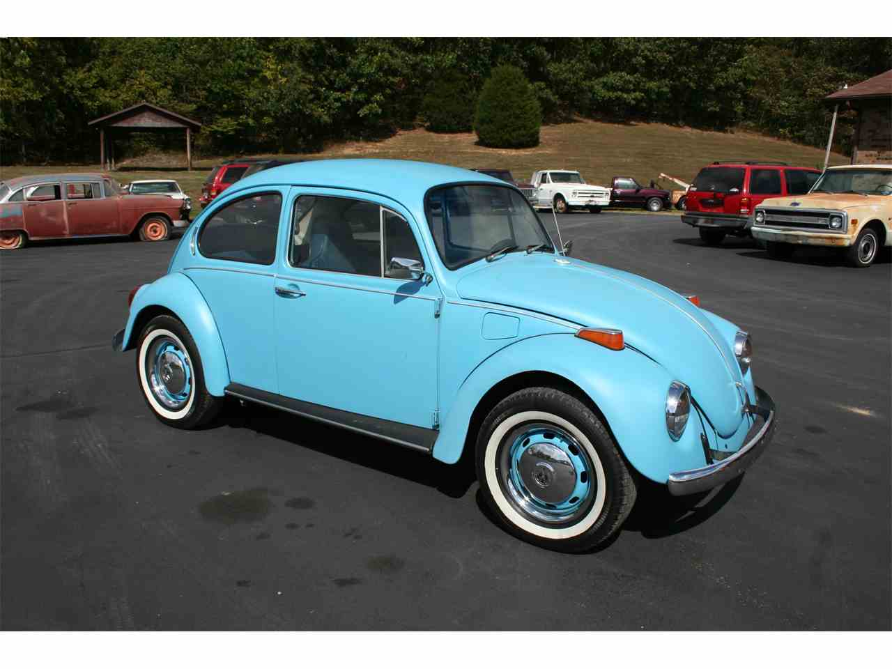 1972 volkswagen beetle for sale cc 1032103. Black Bedroom Furniture Sets. Home Design Ideas