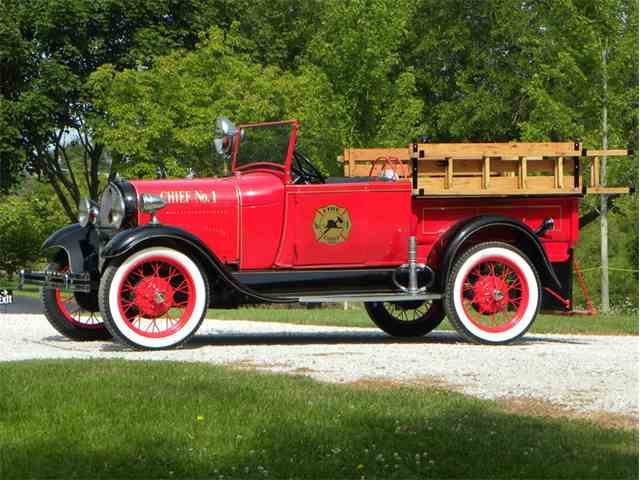 Picture of '29 Model A Roadster Chief Truck - M4FD