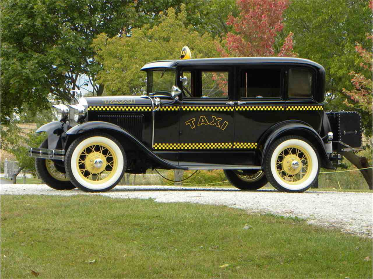 1930 Ford Model A Briggs Body 4 Door Taxi for Sale | ClassicCars ...