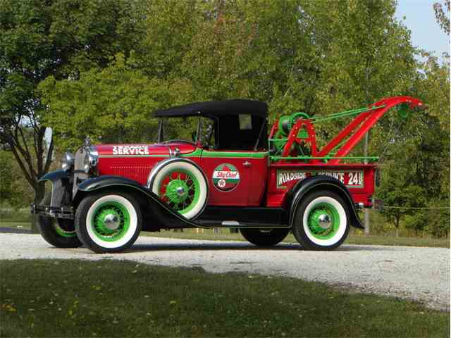 Picture of '30 Model A Roadster Texaco Weaver Tow Truck - M4H7