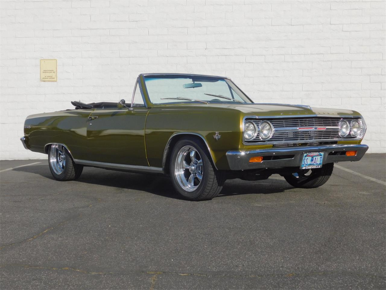 Large Picture of '65 Chevrolet Chevelle Malibu located in Carson California Offered by Back in the Day Classics - M4KH