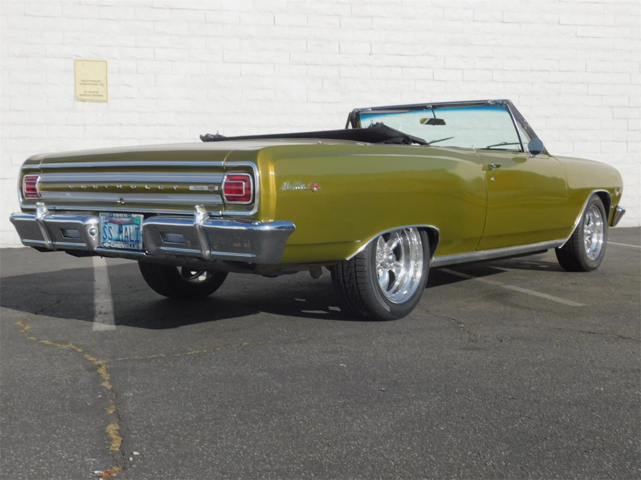 Large Picture of Classic '65 Chevrolet Chevelle Malibu located in Carson California - $35,000.00 Offered by Back in the Day Classics - M4KH