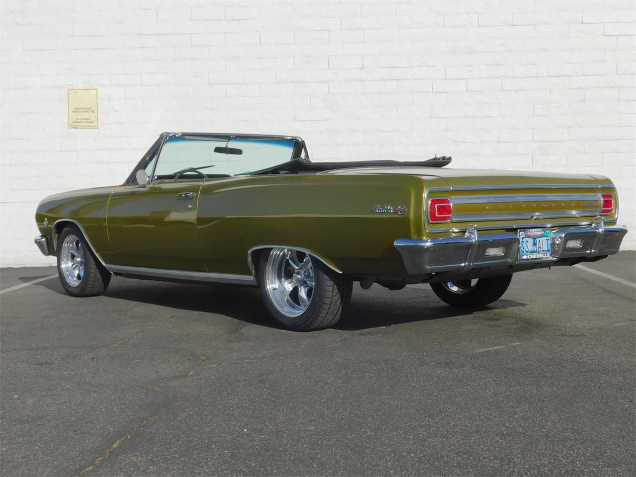 Large Picture of 1965 Chevrolet Chevelle Malibu located in California - $35,000.00 - M4KH