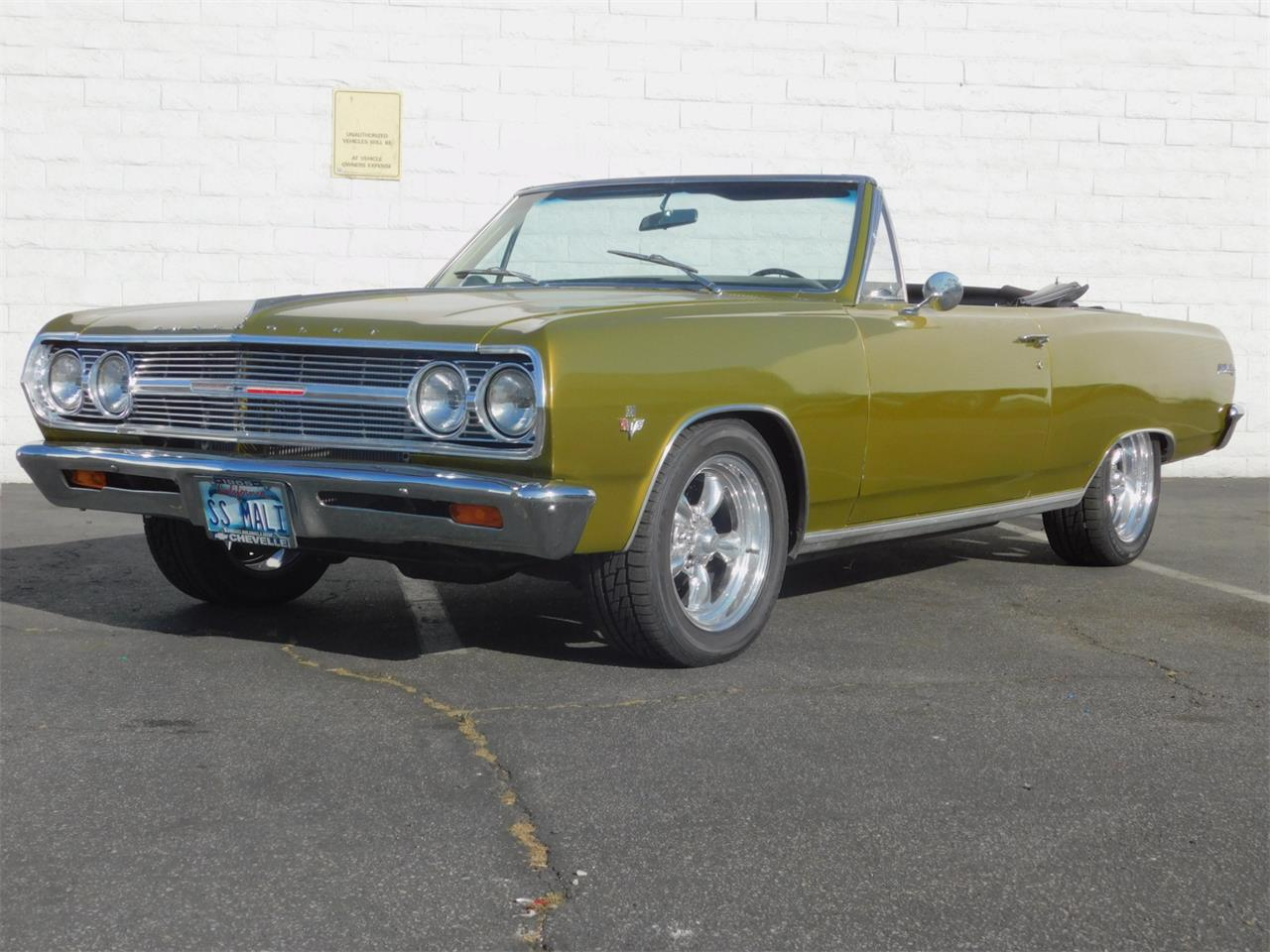 Large Picture of '65 Chevrolet Chevelle Malibu located in California - $35,000.00 Offered by Back in the Day Classics - M4KH