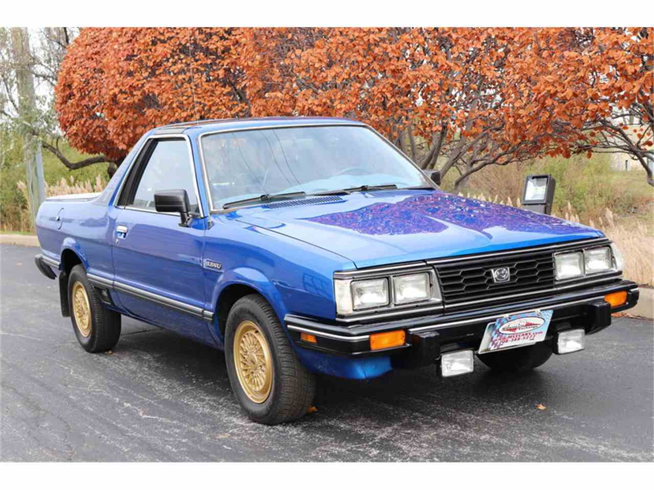 Large Picture of '83 Subaru Brat located in Illinois Offered by Midwest Car Exchange - M4TU