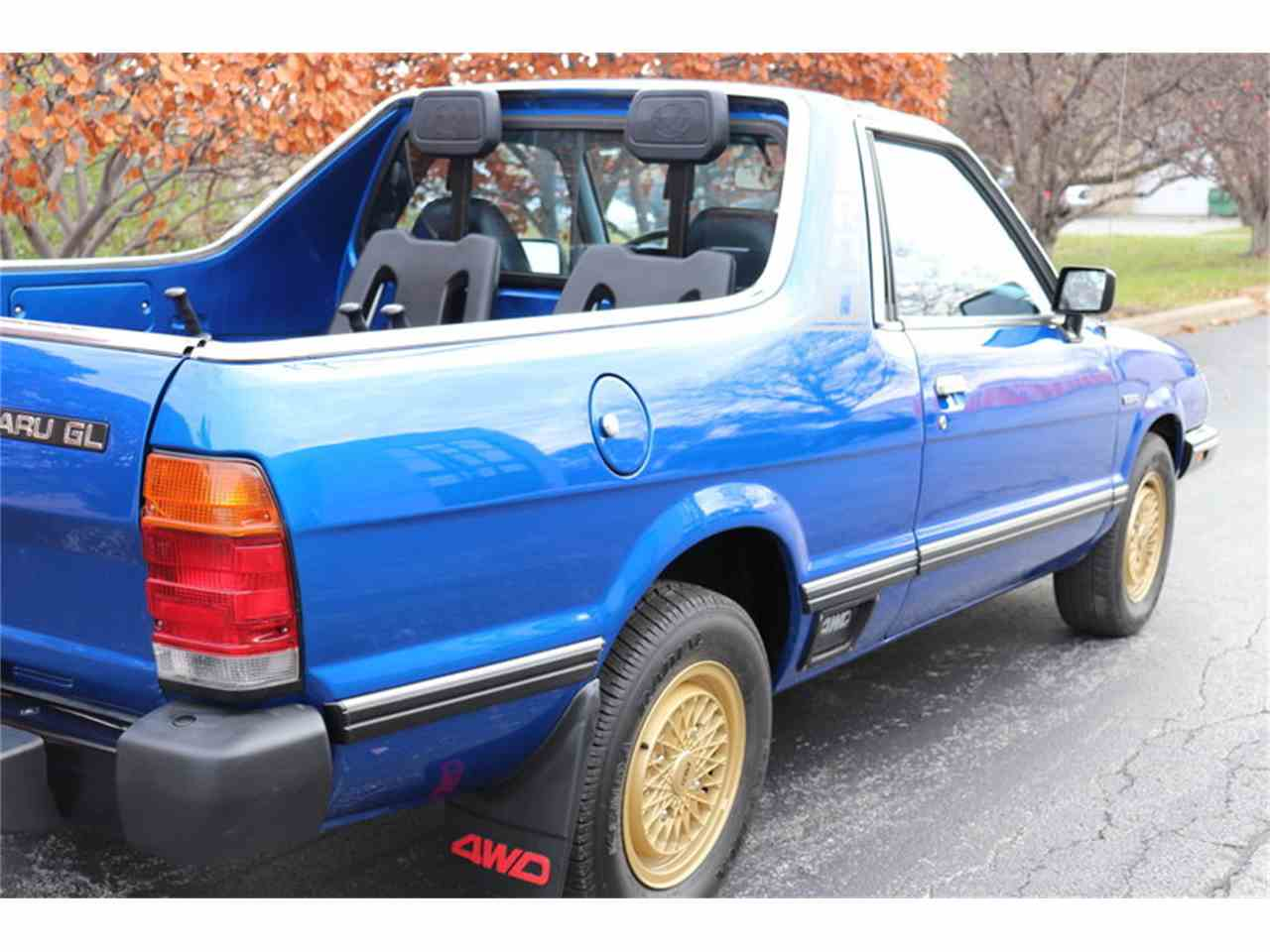 Large Picture of '83 Subaru Brat located in Alsip Illinois Offered by Midwest Car Exchange - M4TU