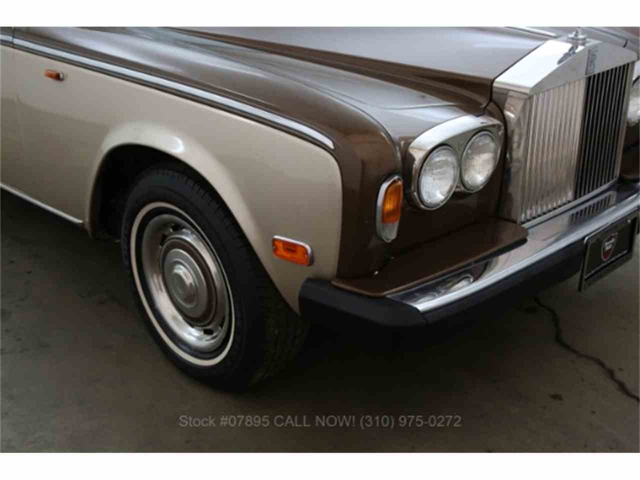Large Picture of '79 Silver Shadow located in Beverly Hills California Offered by Beverly Hills Car Club - M4TX