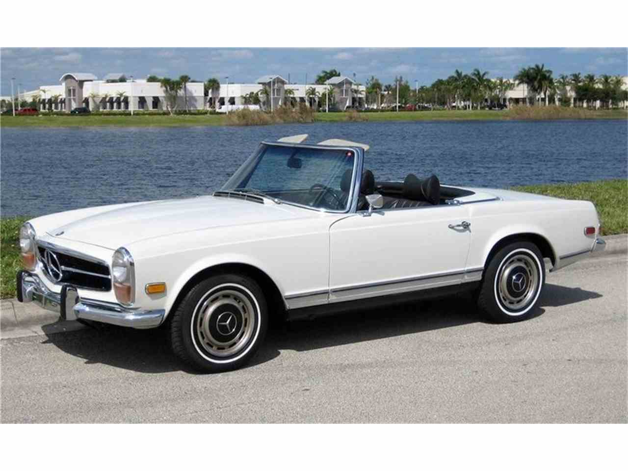 1970 mercedes benz 280sl for sale cc 1032811. Black Bedroom Furniture Sets. Home Design Ideas