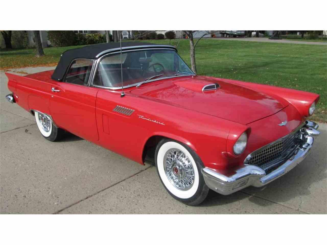 1957 ford thunderbird for sale cc 1032946. Black Bedroom Furniture Sets. Home Design Ideas