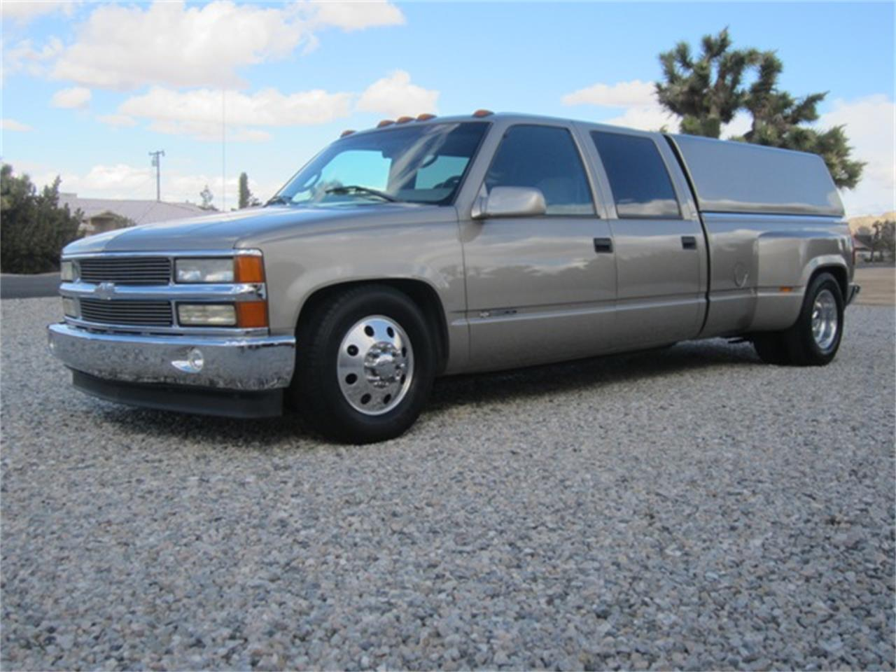 1999 Chevrolet 3500 Crew Cab Dually For Sale Classiccars