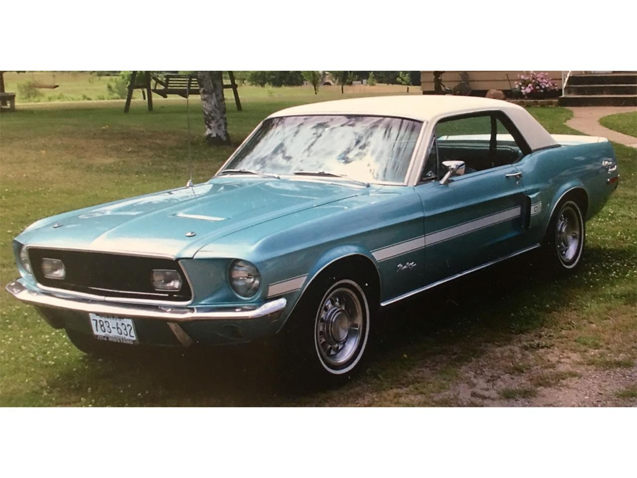 Large picture of 68 mustang gt cs california special 30500 00