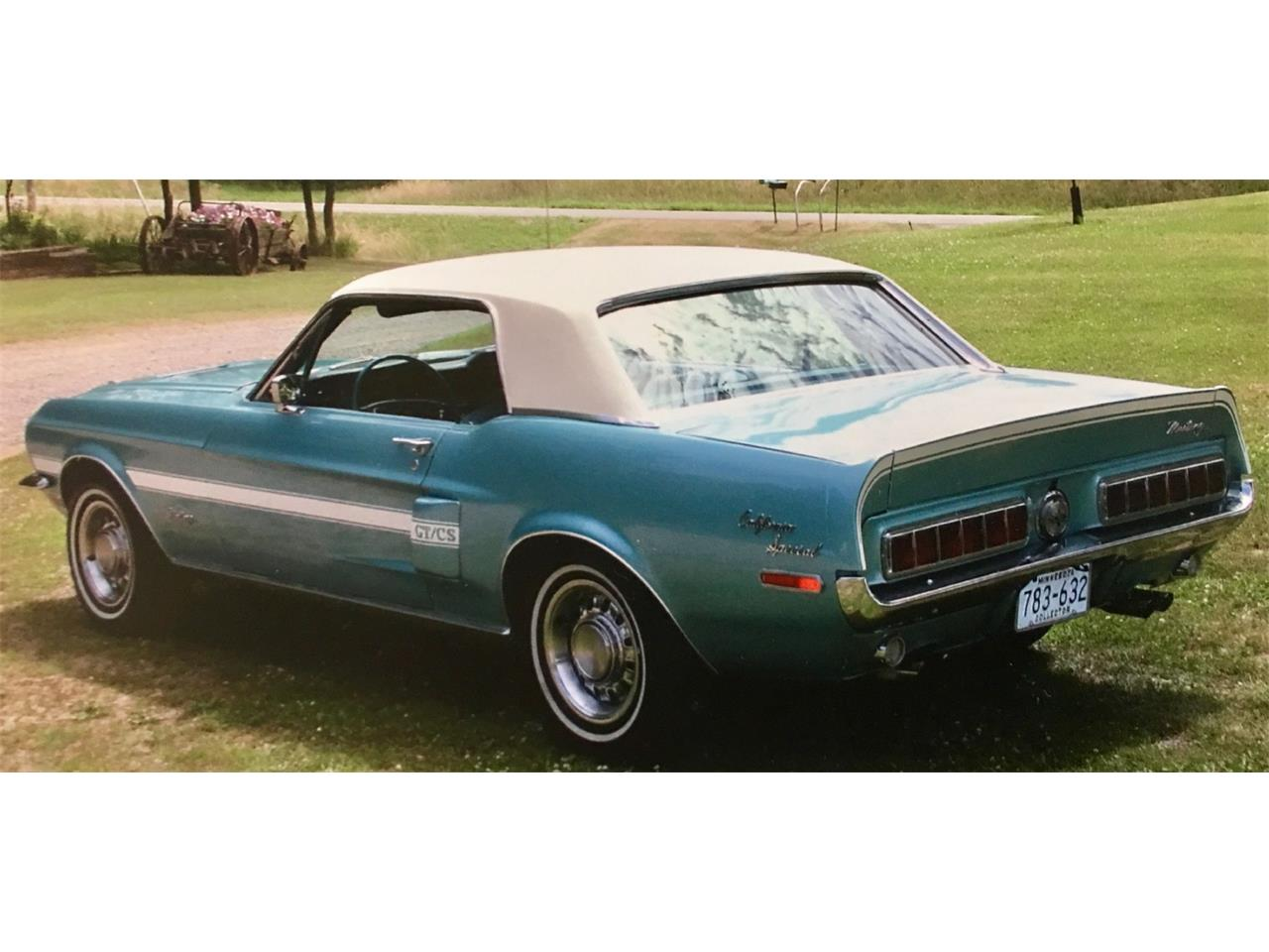 Large Picture of '68 Mustang GT/CS (California Special) - M5AA