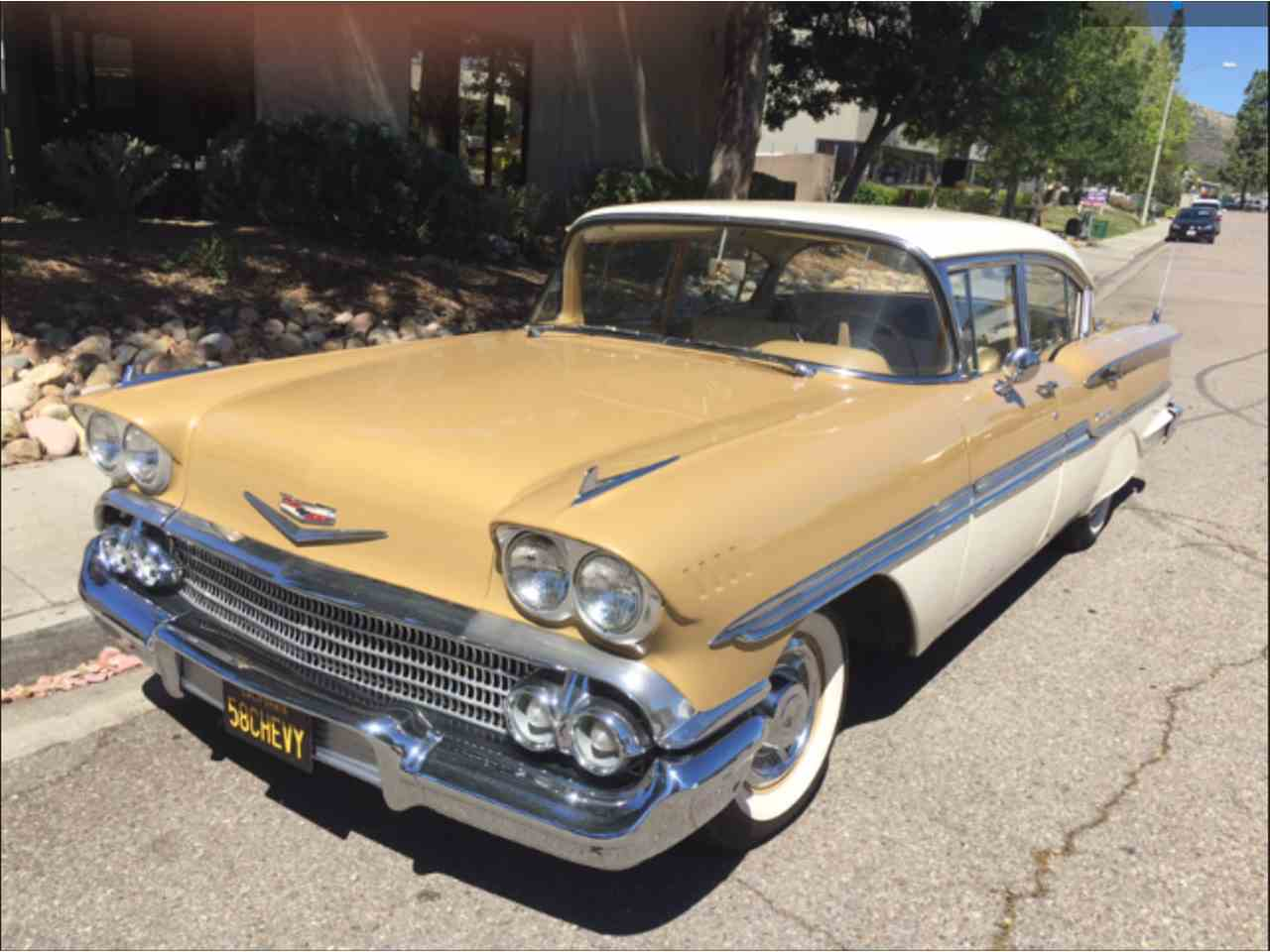 1958 Chevrolet Biscayne for Sale | ClicCars.com | CC-1033555