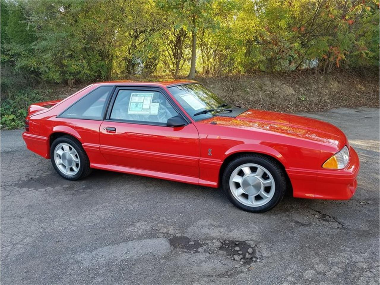 1993 ford mustang cobra for sale classiccars com cc 1033594