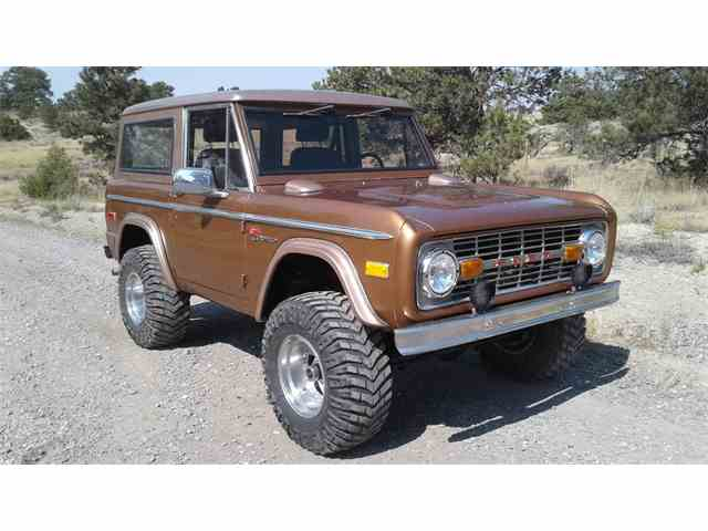 Picture of 1975 Bronco - $67,000.00 Offered by a Private Seller - M5P7