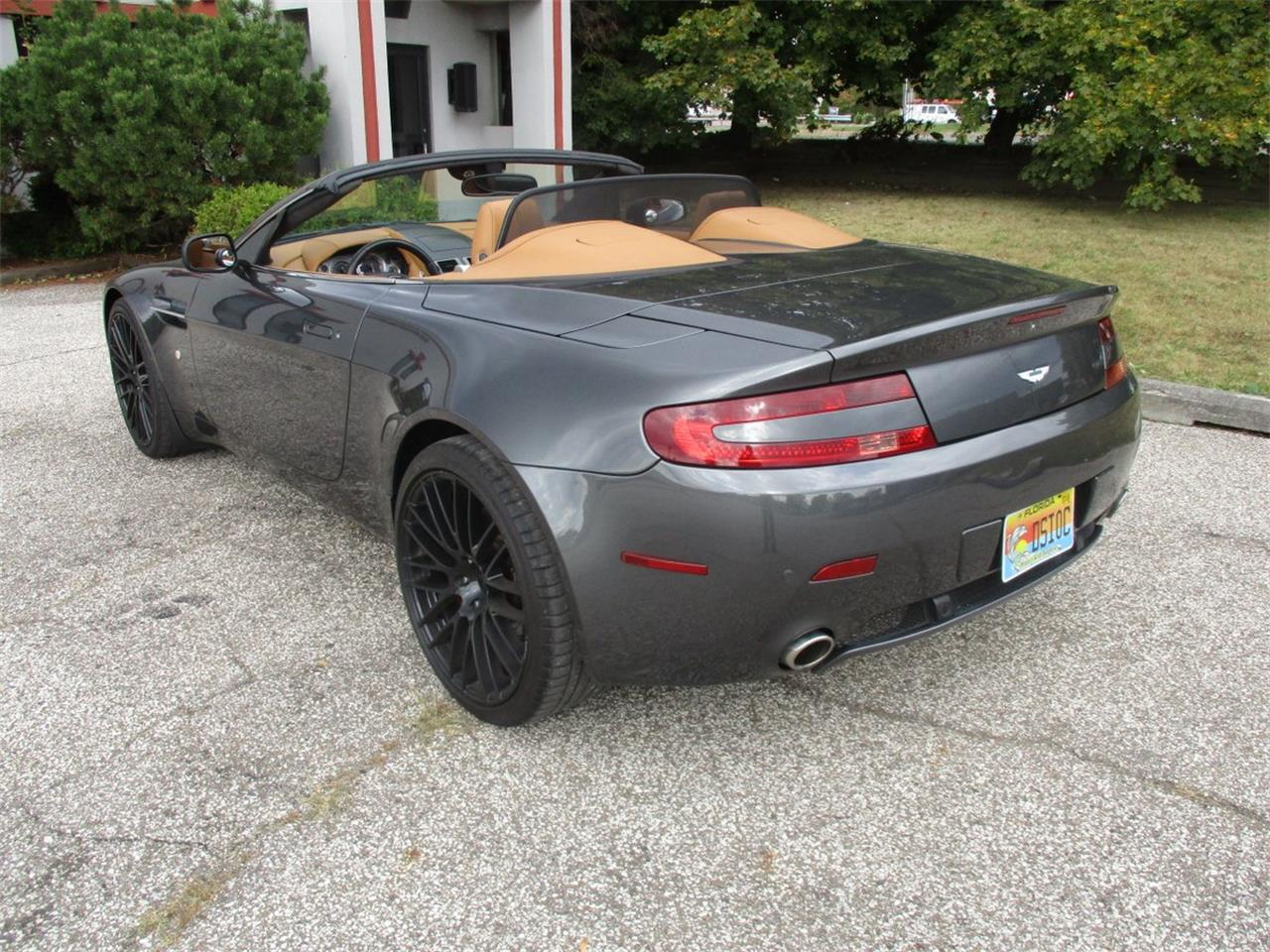Large Picture of '09 Aston Martin V8 Vantage Roadster located in Ohio Offered by Vintage Motor Cars USA - M5PD