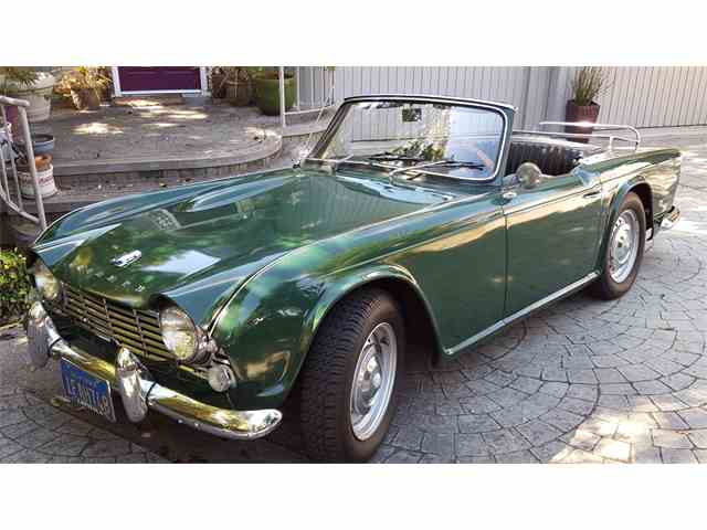 classic triumph tr4 for sale on. Black Bedroom Furniture Sets. Home Design Ideas