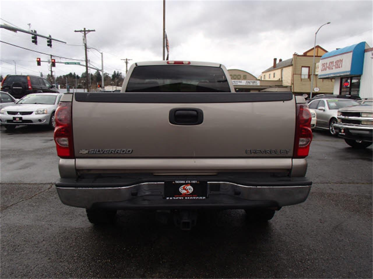 Large Picture of '03 Silverado located in Tacoma Washington Offered by Sabeti Motors - M5R3