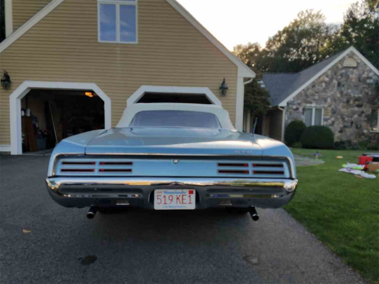 Large Picture of Classic 1967 GTO located in Braintree Massachusetts - $60,000.00 Offered by a Private Seller - M5S6