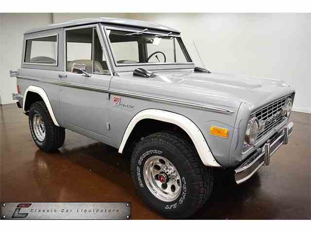 Picture of '77 Bronco - M5TL
