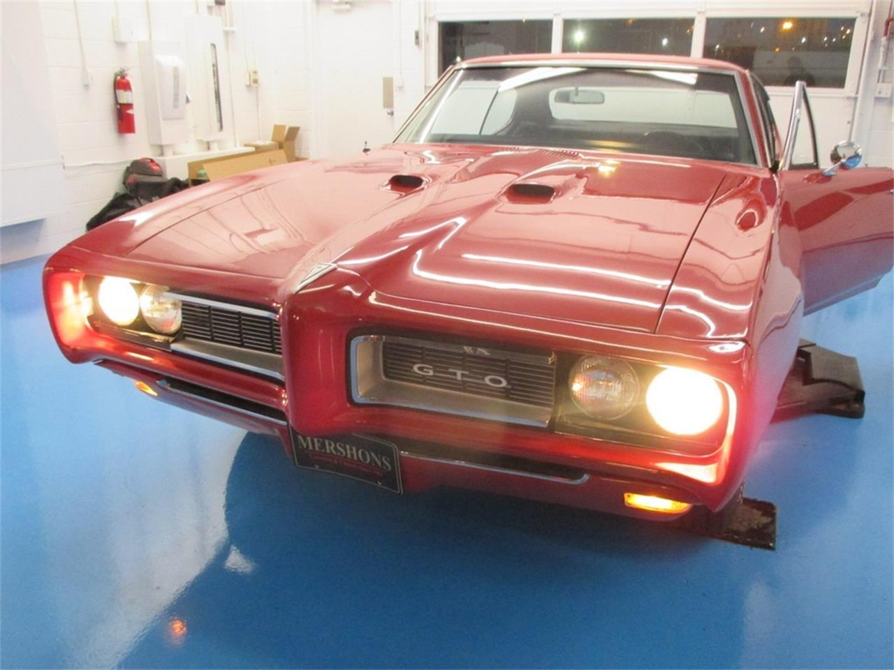 Large Picture of Classic '68 Pontiac GTO located in Springfield Ohio - $34,900.00 Offered by Mershon's - M60Y