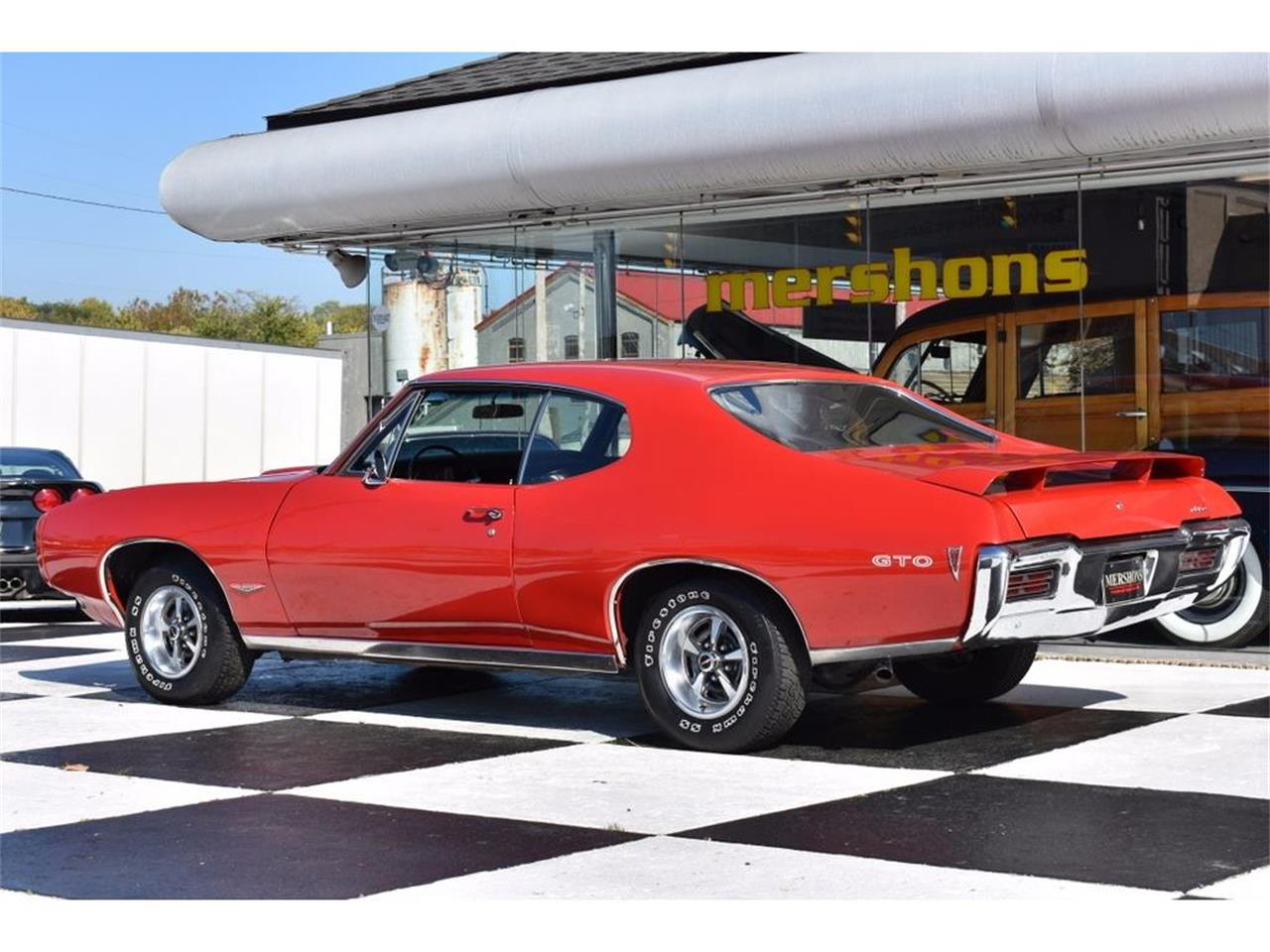 Large Picture of Classic 1968 Pontiac GTO Offered by Mershon's - M60Y