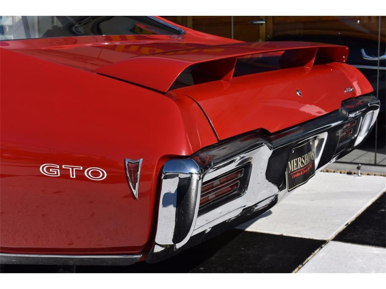 Large Picture of Classic '68 GTO located in Springfield Ohio - $34,900.00 Offered by Mershon's - M60Y