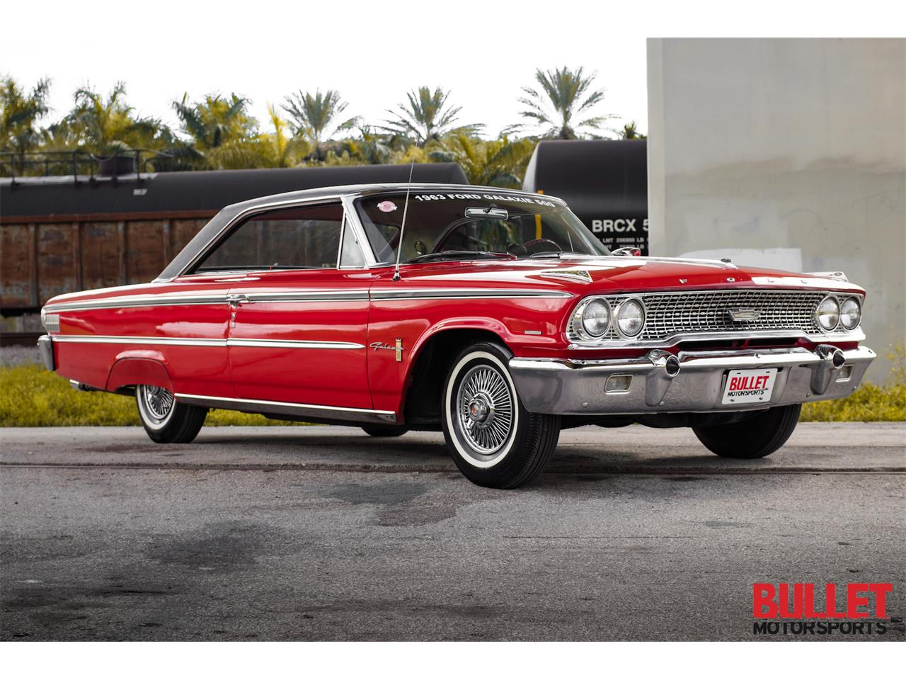 Large Picture of Classic '63 Ford Galaxie located in Fort Lauderdale Florida Offered by Bullet Motorsports Inc - M69S