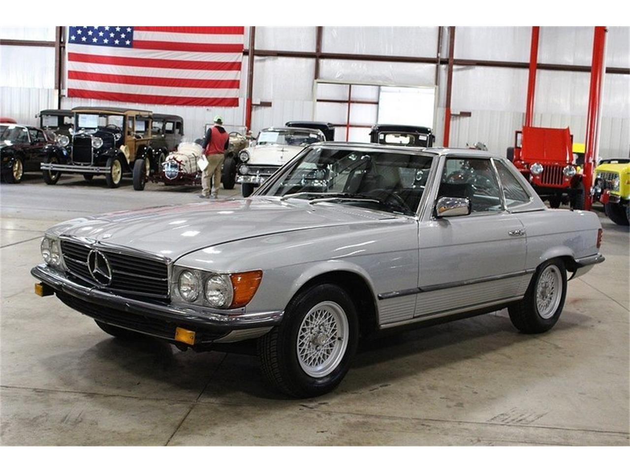 Large Picture of '80 Mercedes-Benz 450SL located in Michigan - $14,900.00 Offered by GR Auto Gallery - M6AJ