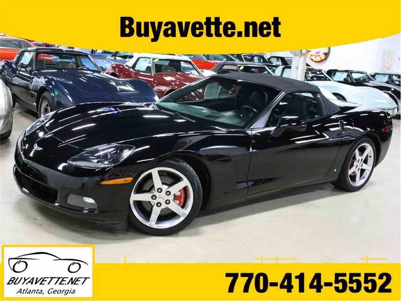 Large Picture of 2006 Chevrolet Corvette located in Georgia - $21,999.00 - M6BM