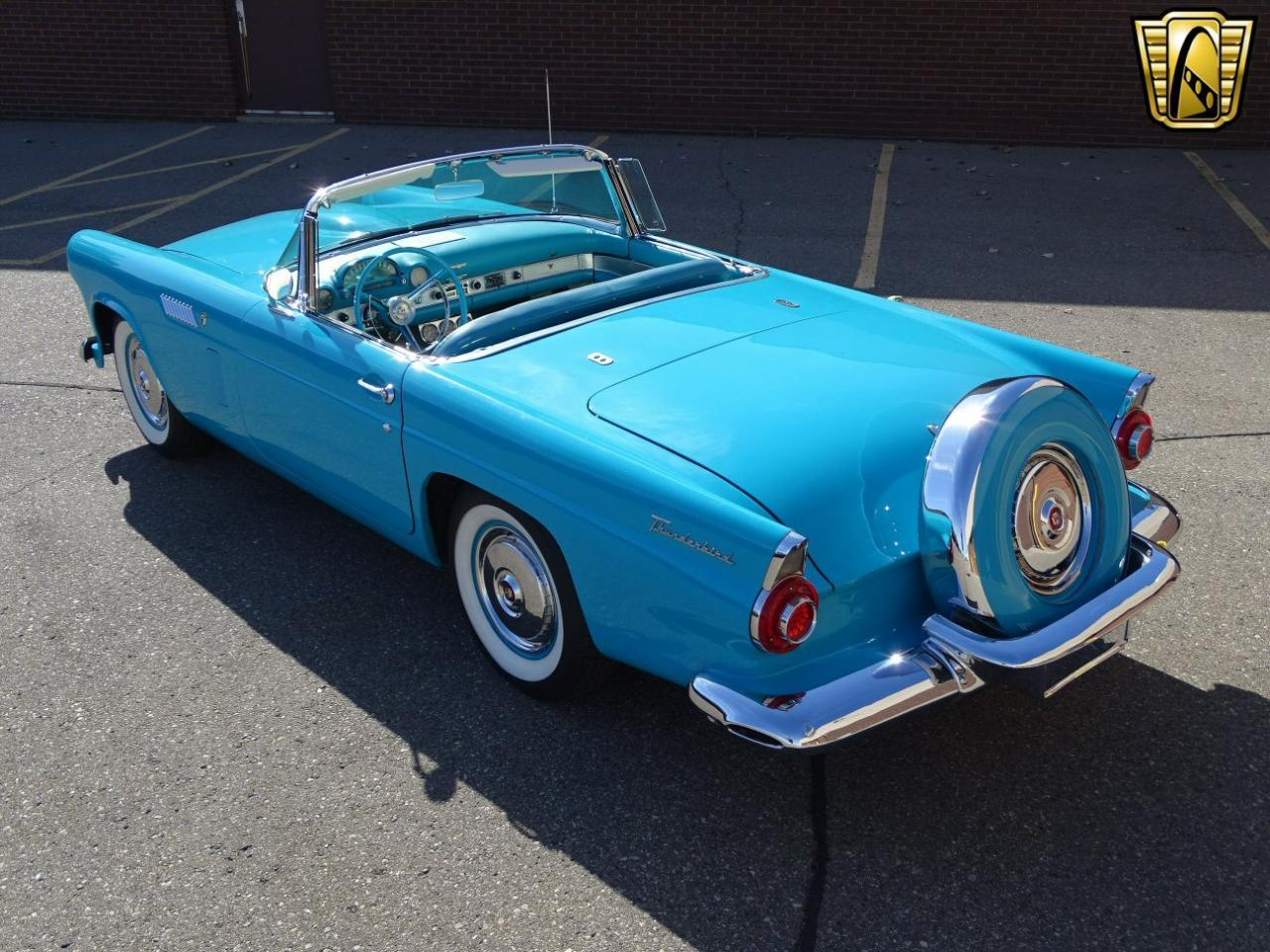 Large Picture of Classic 1956 Ford Thunderbird located in Michigan Offered by Gateway Classic Cars - Detroit - M6BX
