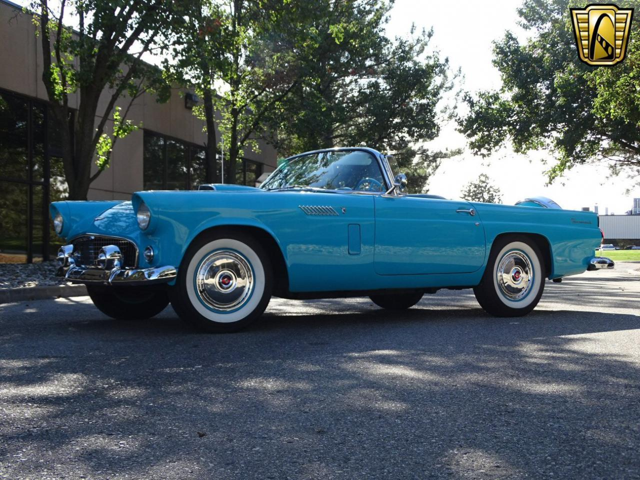 Large Picture of 1956 Ford Thunderbird located in Michigan - $34,995.00 Offered by Gateway Classic Cars - Detroit - M6BX