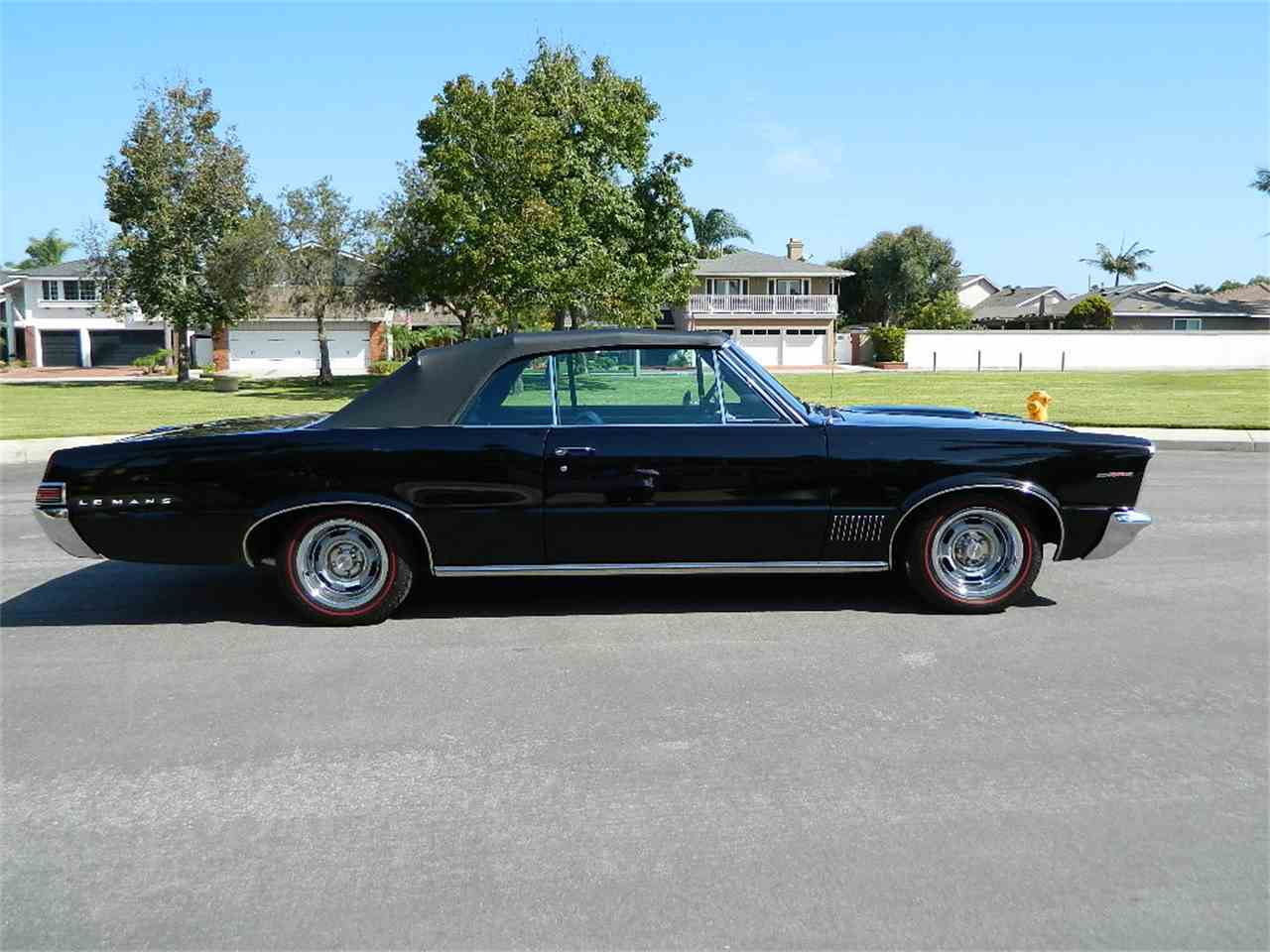 For Sale 65 Corsa Convertible Rolling Chassis California: 1965 Pontiac LeMans For Sale