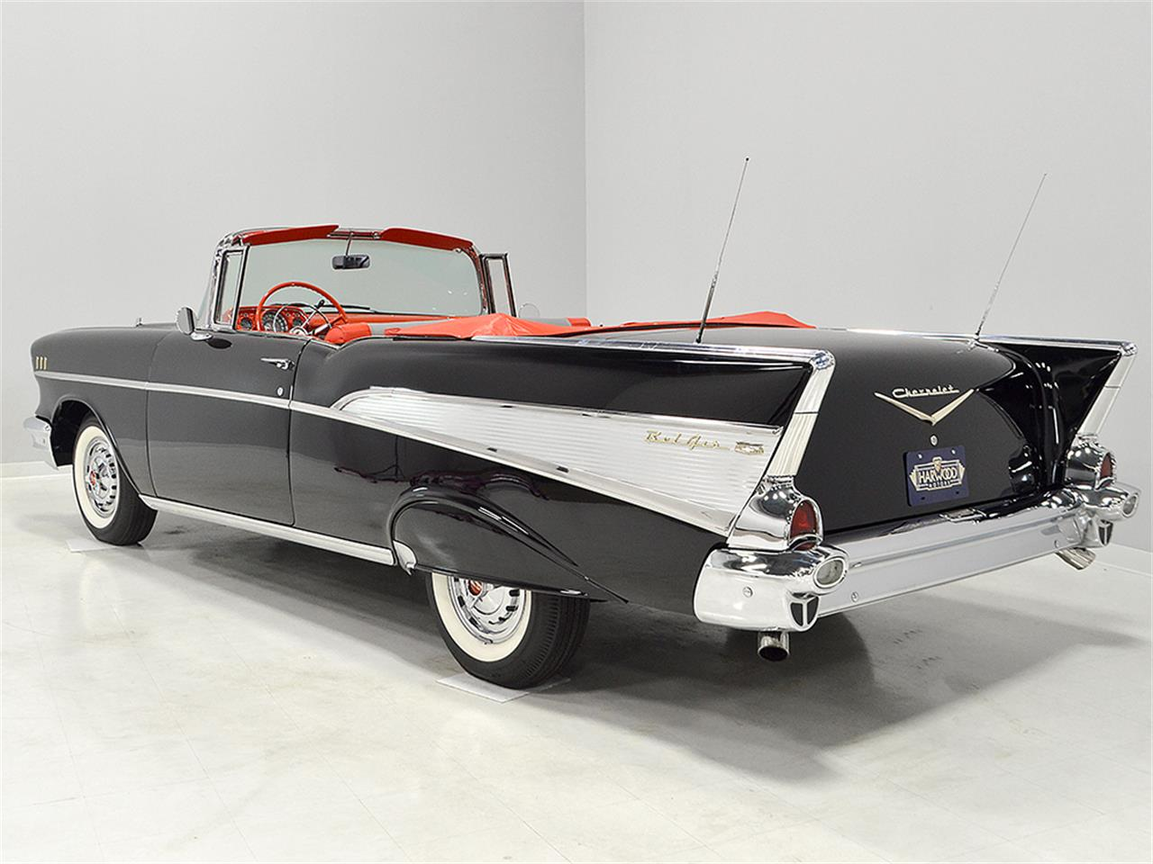 Large Picture of Classic '57 Chevrolet Bel Air located in Ohio Offered by Harwood Motors, LTD. - M6IV
