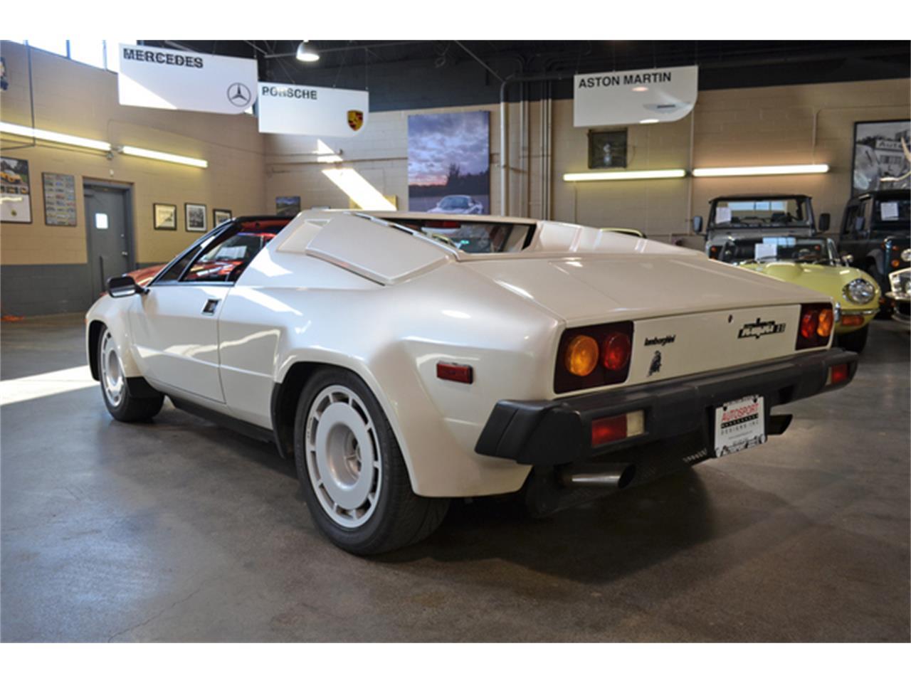 Large Picture of '87 Lamborghini Jalpa located in Huntington Station New York Auction Vehicle - M6IZ