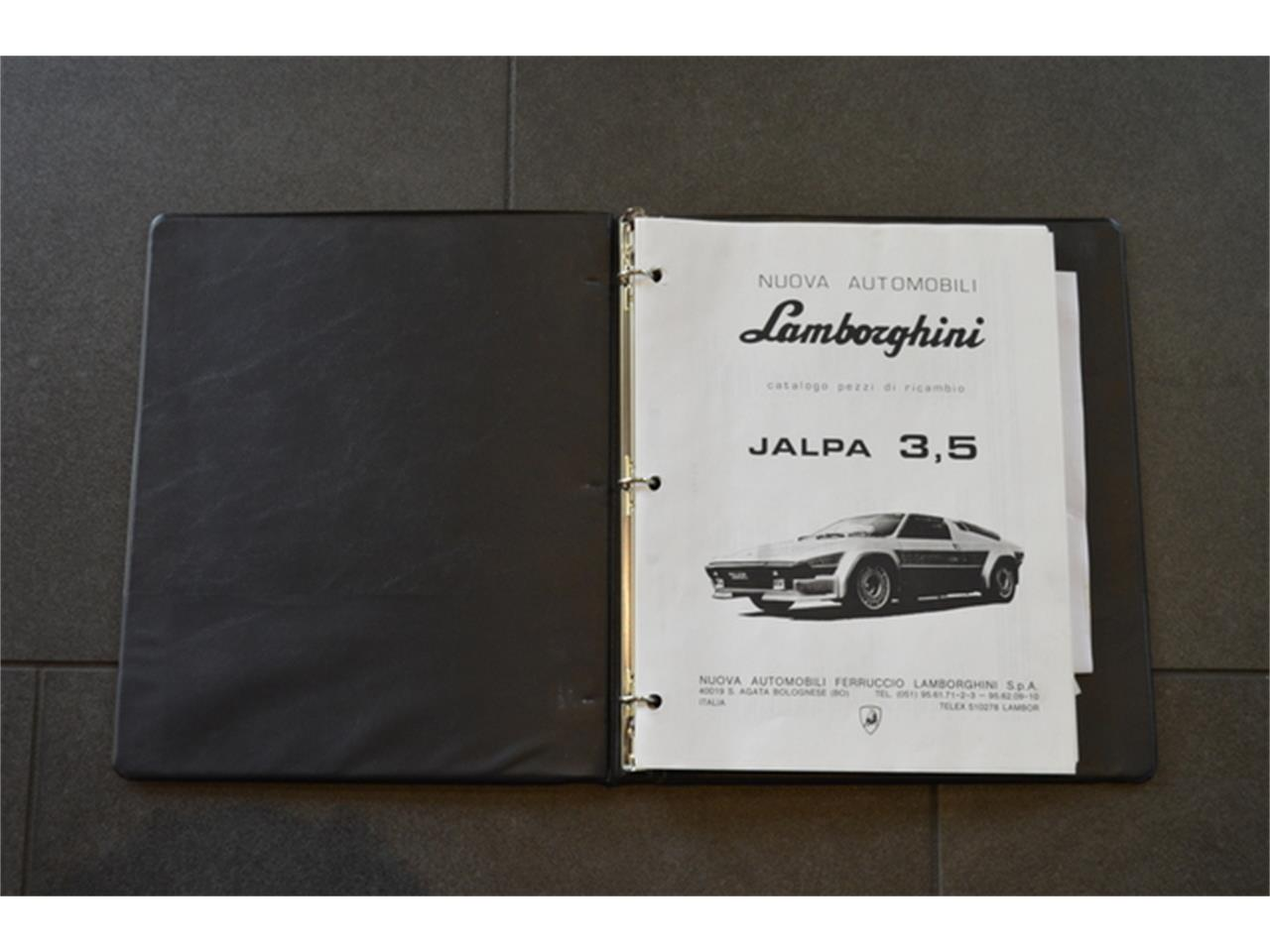 Large Picture of 1987 Lamborghini Jalpa Auction Vehicle Offered by Autosport Designs Inc - M6IZ