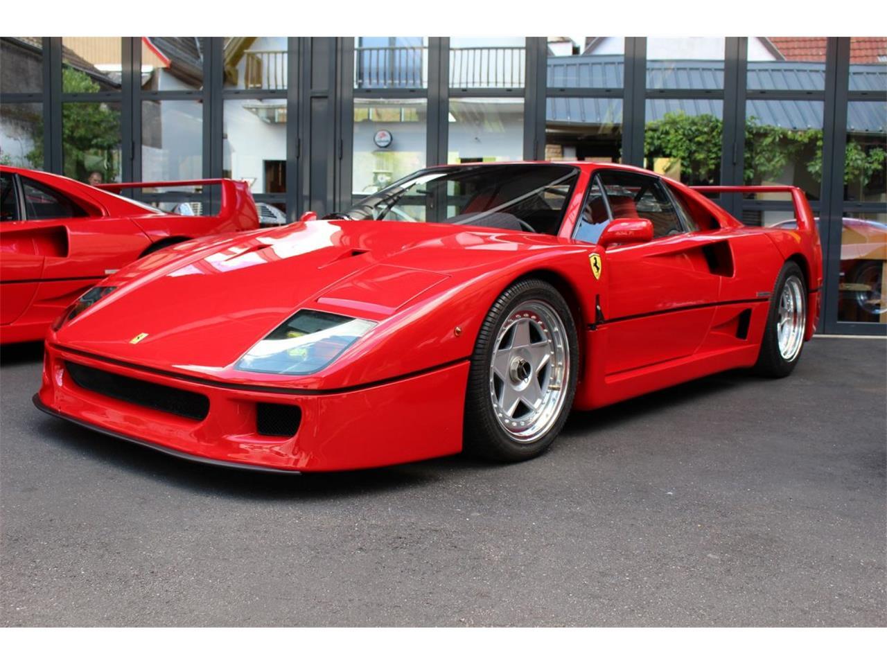 Ferrari F40 For Sale >> For Sale 1991 Ferrari F40 In Besancon Franche Comte