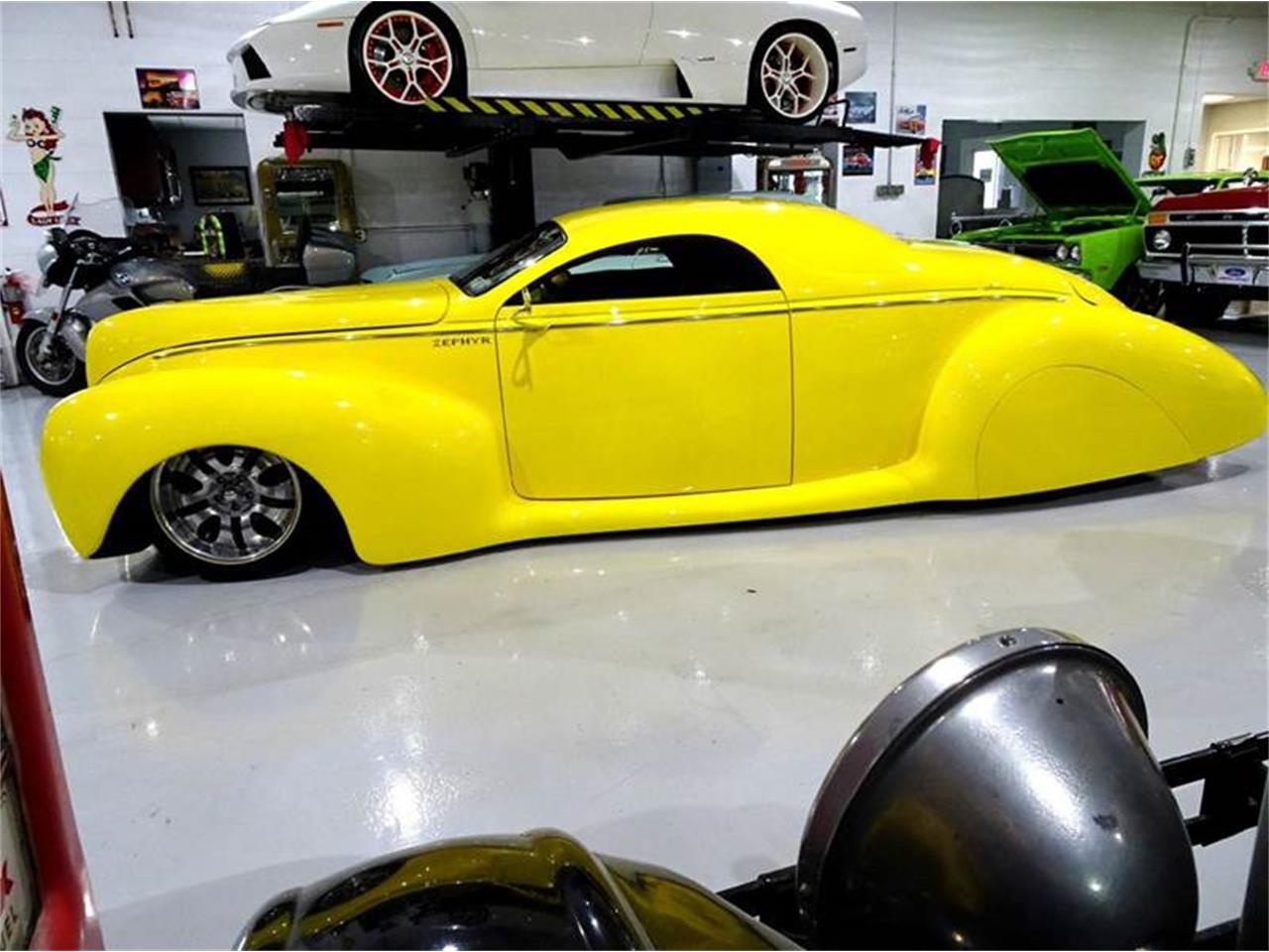 Large Picture of Classic '39 Lincoln Zephyr located in Hilton New York - $74,995.00 Offered by Great Lakes Classic Cars - M6K0