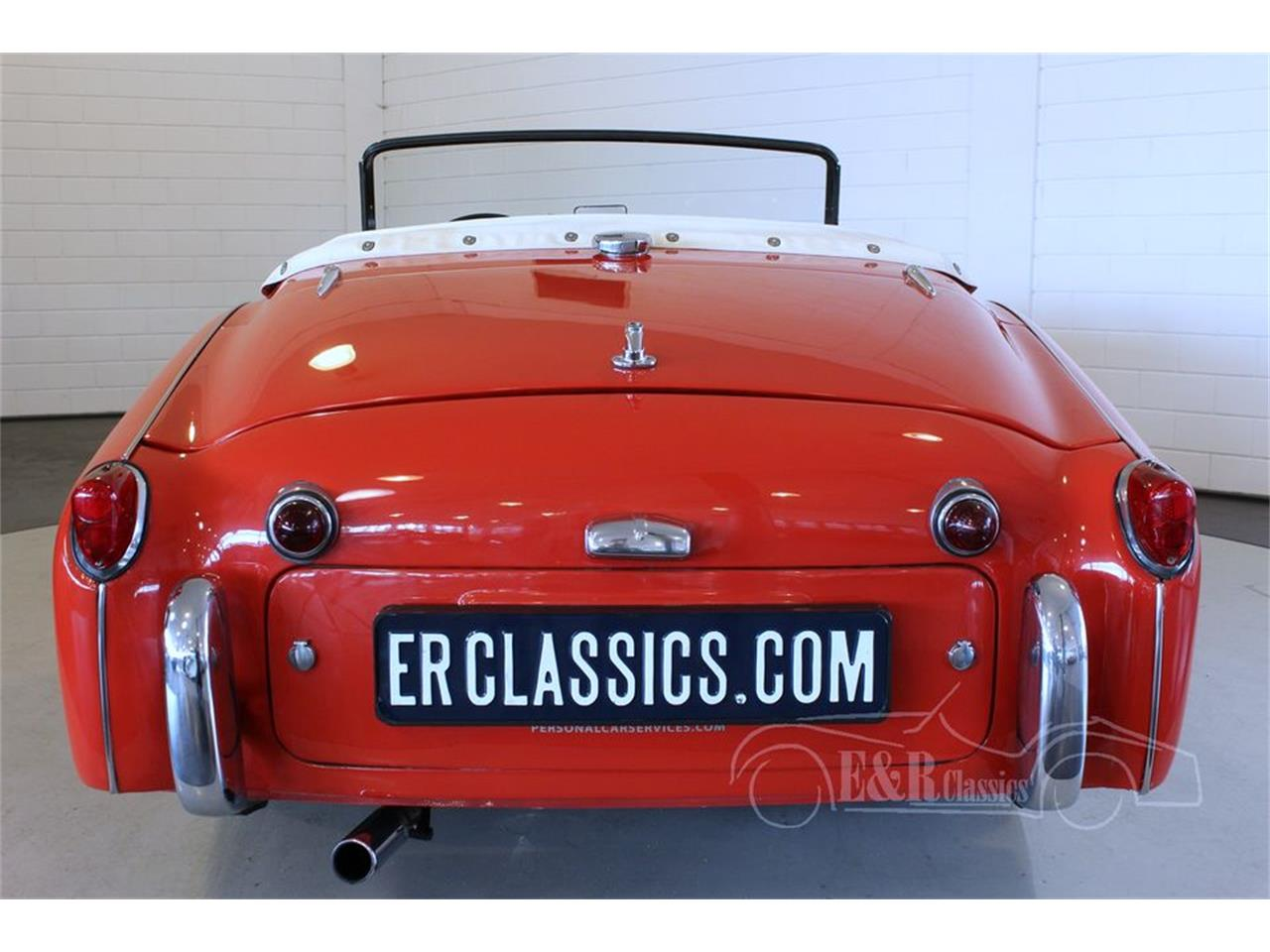 Large Picture of '57 TR3 - M6KQ