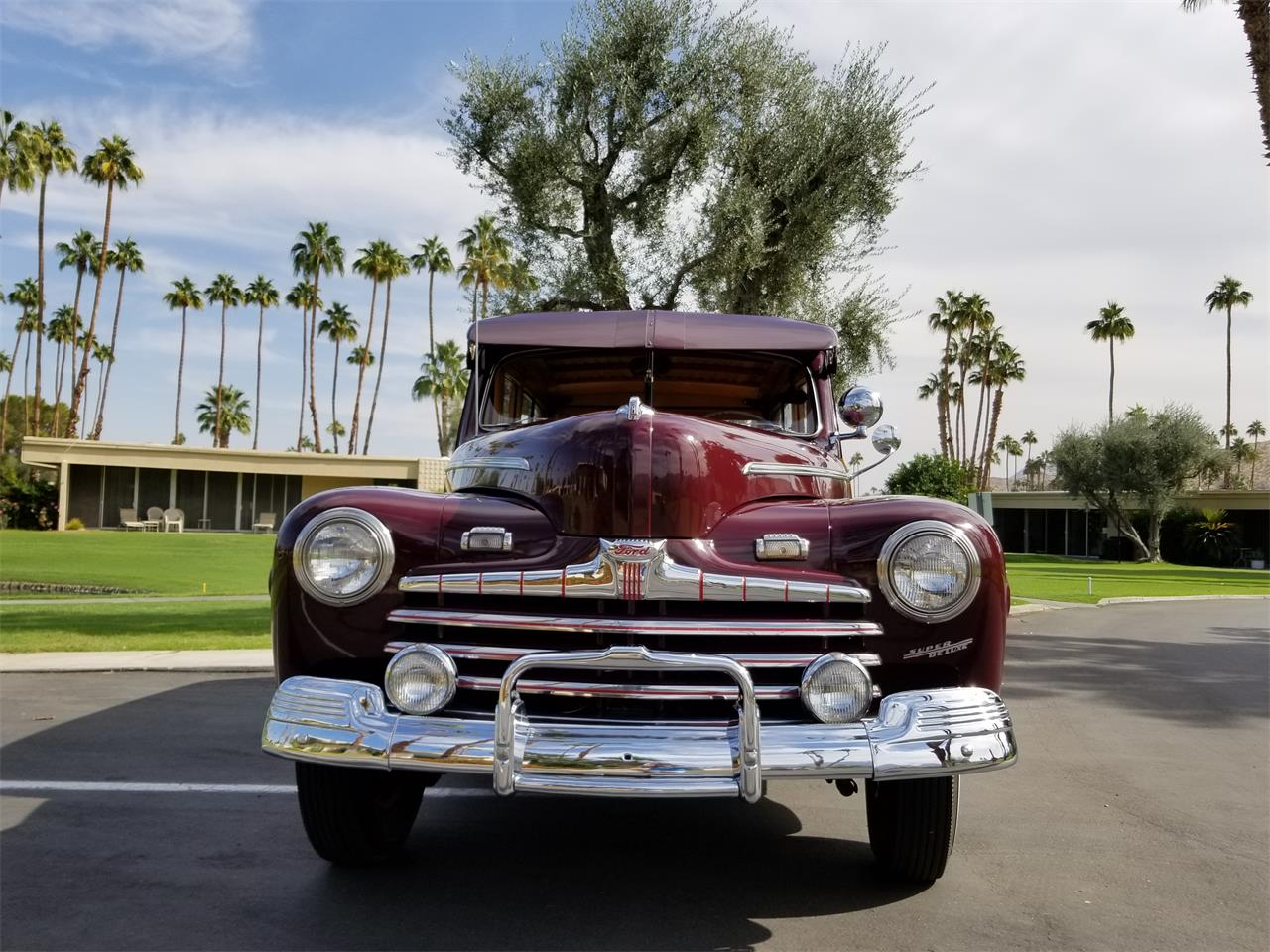 1947 ford woody wagon for sale cc 1035000 for Ford palm springs motors