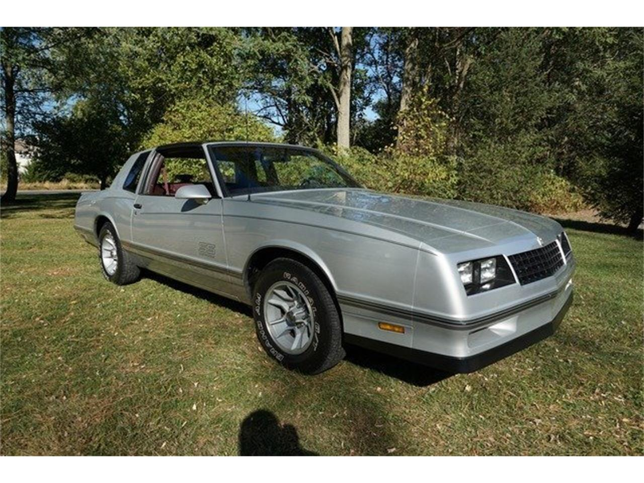 For Sale: 1987 Chevrolet Monte Carlo SS in Monroe, New Jersey