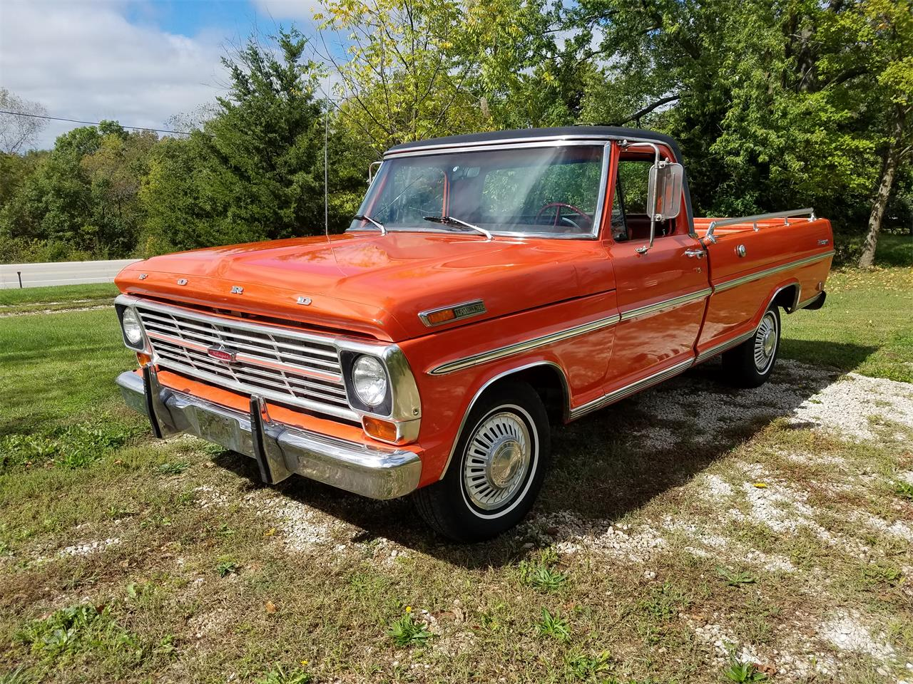 1969 Ford F100 Pickup Truck Model Short Bed Large Picture 1280x960