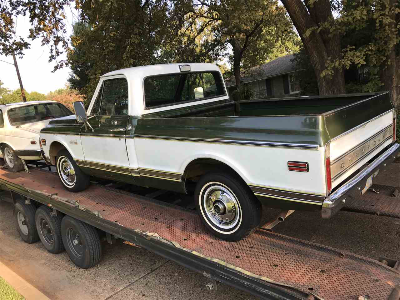 Large Picture of '72 C10 located in Texas Offered by a Private Seller - M6NX