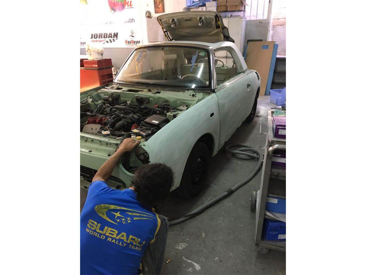 Large Picture of '91 Nissan Figaro Offered by Figs4U - M6O9
