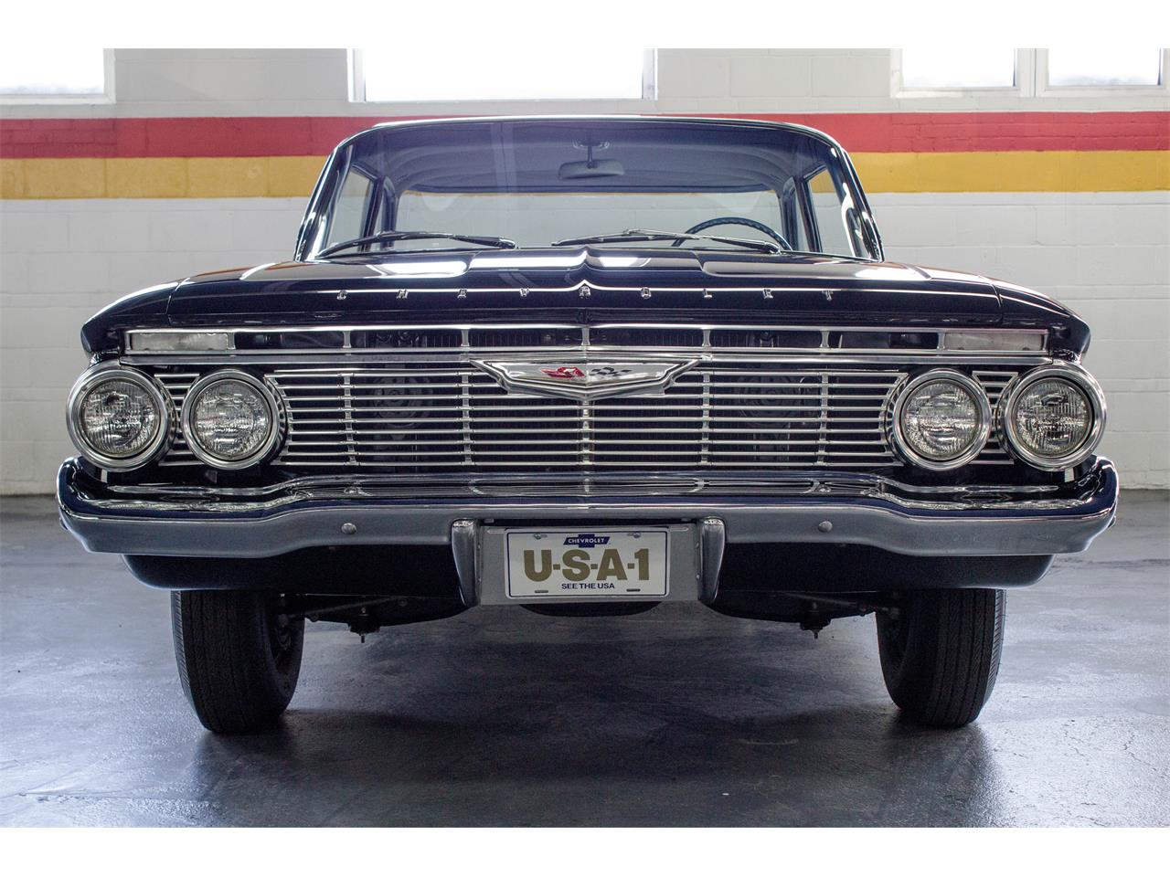 Large Picture of 1961 Chevrolet Bel Air located in Montréal Quebec Offered by John Scotti Classic Cars - M35A