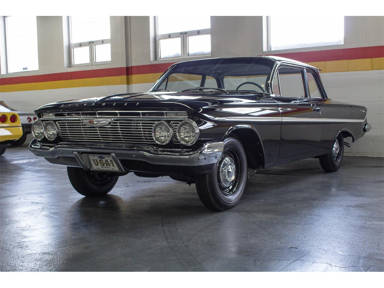 Large Picture of Classic 1961 Bel Air - M35A