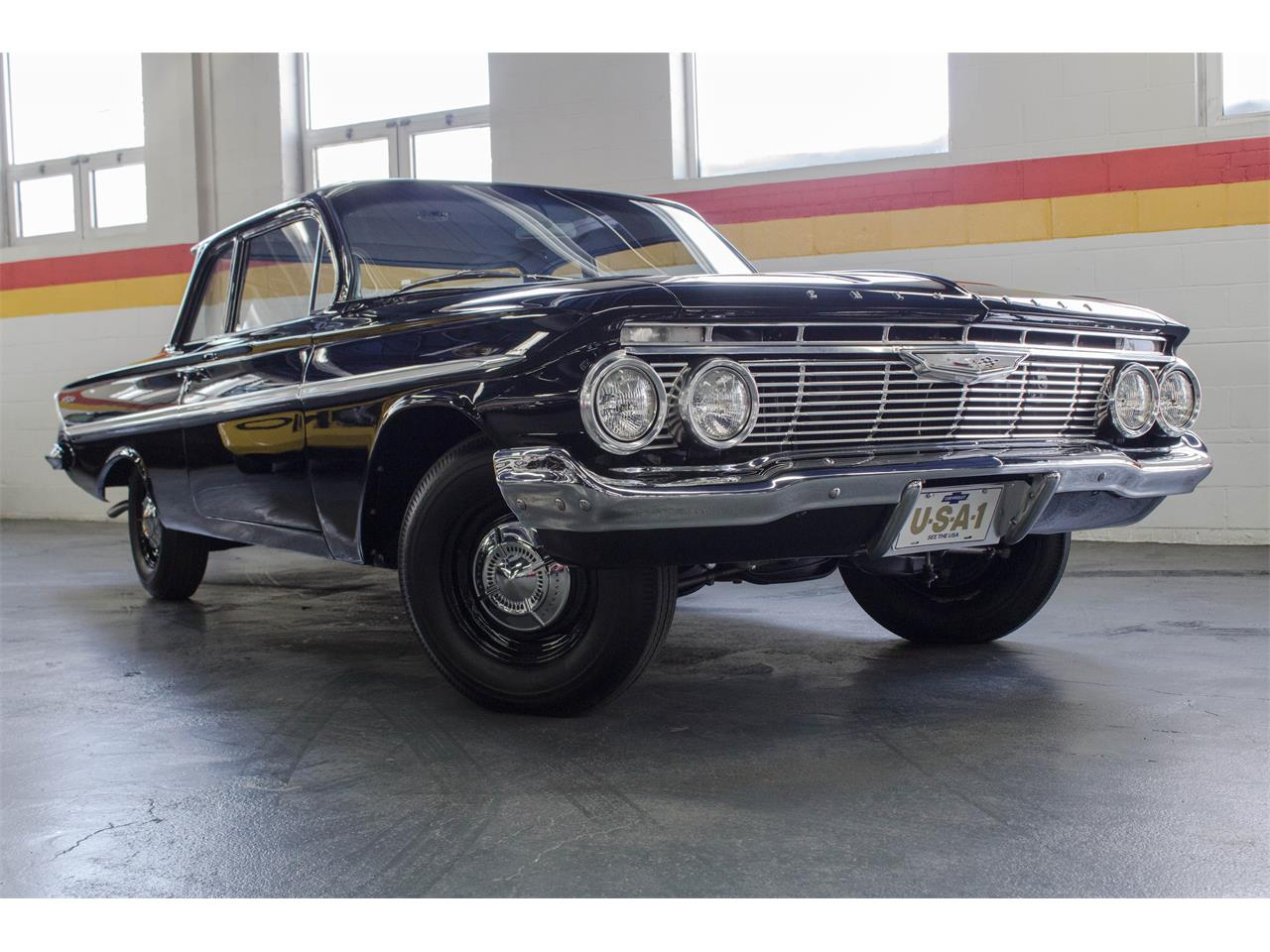 Large Picture of Classic '61 Chevrolet Bel Air - $72,500.00 - M35A